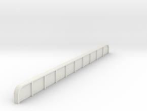 north philly  platform girder HO in White Natural Versatile Plastic