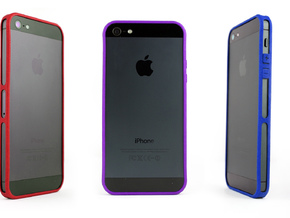 Brute for iPhone 5 - Thin but Tough in Purple Processed Versatile Plastic