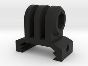 GoPro Picatinny Mount (Forward Tilting) in Black Premium Versatile Plastic
