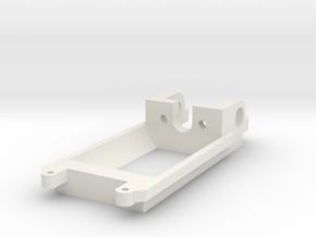 Flat Motor mount / Motorhalter 13D Inliner in White Natural Versatile Plastic