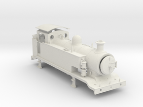 9.5mm - LB&SCR E2 - EXTENDED TANKS in White Natural Versatile Plastic