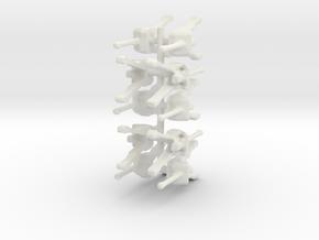 17 pd set board game piece in White Natural Versatile Plastic