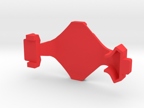 IMPRIMO - Full Version (Printable Canopy Type C) in Red Processed Versatile Plastic