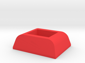 IMPRIMO - CF Version (Printable Front Lock) in Red Processed Versatile Plastic