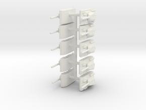 t 34 set board game piece in White Natural Versatile Plastic