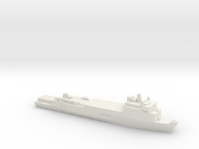 Foudre-Class LPD, 1/700 in White Natural Versatile Plastic