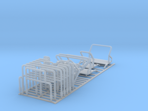 1/64 C850 Railings in Smooth Fine Detail Plastic