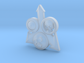 Warhammer 40k Horus Heresy Nurgle Chaos Icon in Smooth Fine Detail Plastic
