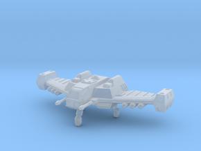Terran Interceptor in Smooth Fine Detail Plastic