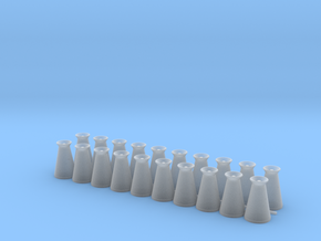 17 Gallon (65 L) Conical Milk Churn Variant 3 in Frosted Ultra Detail: 1:48 - O