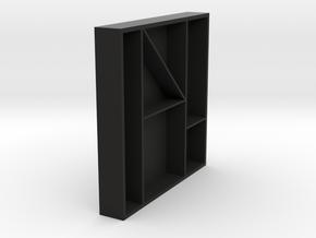 Bits tray in Black Natural Versatile Plastic: Medium