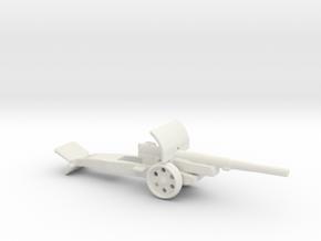 15cm kanone 16 krupp 1/144 ww1 artillery  in White Natural Versatile Plastic