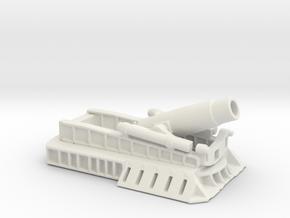 370 Filloux mortar 1/144 ww1 artillery  in White Natural Versatile Plastic