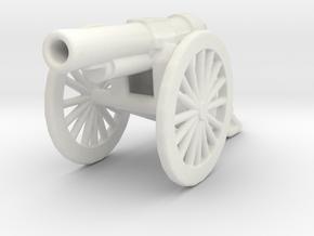 bl 6 inch 30 cwt howitzer 1/56  ww1 artillery  in White Natural Versatile Plastic