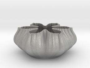 Fractal Bowl 2108 in Aluminum