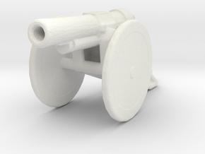 bl 6 inch 30 cwt howitzer 1/144 ww1 artillery  in White Natural Versatile Plastic