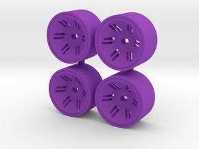 4WD REAR +05 in Purple Processed Versatile Plastic