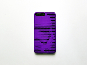 iPhone 7 Plus case_Stormtrooper Force Awakens in Purple Strong & Flexible Polished