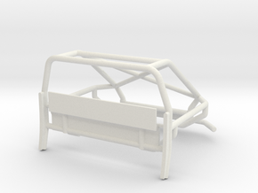 Orlandoo F150 OH35P01 Rear crawler cage V2 in White Natural Versatile Plastic