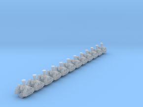 Mechano tracks 6mm height in Smoothest Fine Detail Plastic
