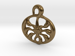 Ancient sun  in Natural Bronze