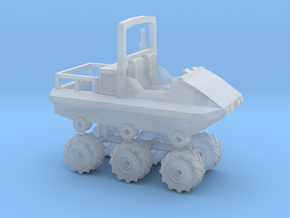 1/64 Scale Swamper Side-by-Side ATV 6x6 in Smooth Fine Detail Plastic