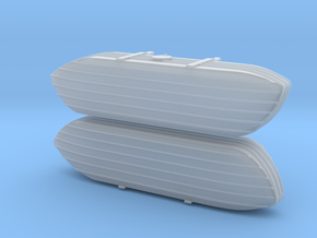 1/144th scale Pontoons for V-3 Straussler in Smooth Fine Detail Plastic