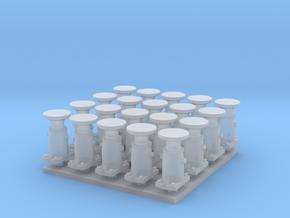 Puskin 20kpl, pyöreä (H0) in Smoothest Fine Detail Plastic