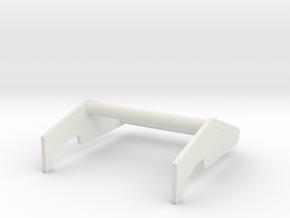 Traxxas TRX-4 Bronco Push Bar in White Natural Versatile Plastic