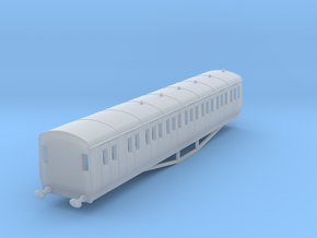 o-148-gwr-artic-main-l-city-brake-third-1 in Smooth Fine Detail Plastic