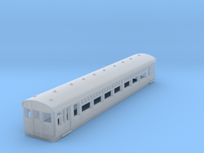 o-148-lner-driver-3rd-coach in Smooth Fine Detail Plastic