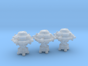 Orbital core modules (3) in Smooth Fine Detail Plastic