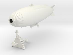 "US Navy ZPG-3W ""Vigilance"" with Mooring Mast in White Natural Versatile Plastic: 1:700"