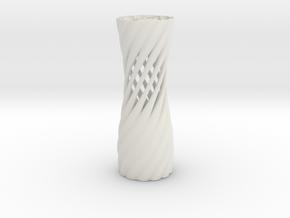 TVase 2111 in White Natural Versatile Plastic