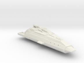 Bajoran Assault Freighter in White Natural Versatile Plastic