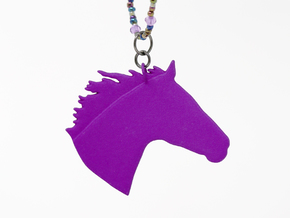 the Chanto Pendant in Purple Strong & Flexible Polished