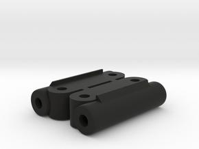 Kyosho Maxxum FF Rear Upperarm Mount in Black Natural Versatile Plastic
