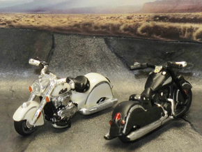 Indian Chief  Dark Horse  2016  1:87 HO  in Smooth Fine Detail Plastic