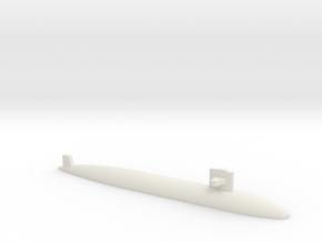 Sturgeon-class SSN (Short Hull), 1/2400 in White Natural Versatile Plastic
