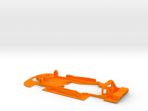 SC-9101e Chasis S7R evo for RT3 motor mount in Orange Processed Versatile Plastic
