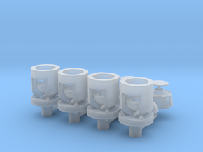 Winteb Air pipe heads_DN100 for damen ships in Smooth Fine Detail Plastic: 1:25