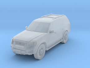Ford Explorer 2006 Scale TT in Smooth Fine Detail Plastic