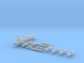Seperatist Full Thrust Introductory Fleet 1:15000 in Smooth Fine Detail Plastic