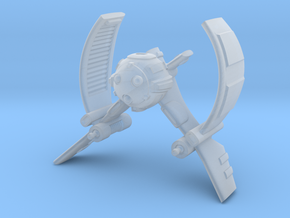 Droid Starfighter Type V in Smooth Fine Detail Plastic