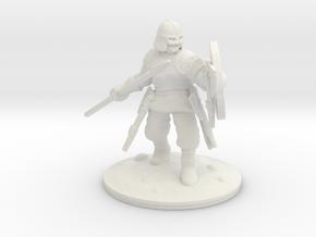 viking spear-man 2 28mm in White Natural Versatile Plastic