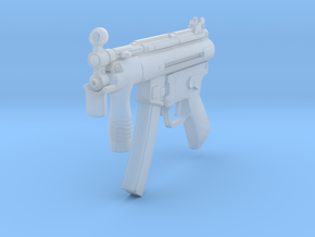 1/10th MP5K in Smooth Fine Detail Plastic