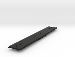 GWR 58ft bow ended underframe in Black Natural Versatile Plastic