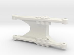 losi jrx pro rear left suspension arm in White Natural Versatile Plastic