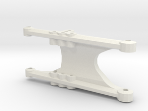 losi jrx pro rear right suspension arm in White Natural Versatile Plastic
