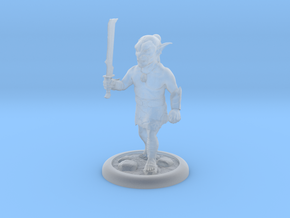 Goblin D&D miniature 25mm in Smooth Fine Detail Plastic